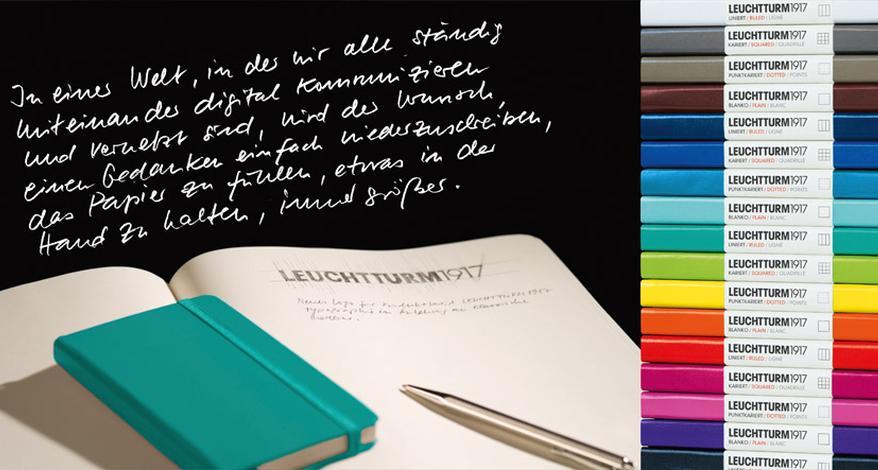 Leuchtturm1917 Notizbücher Und Kalender In Vielen Farben Sutter