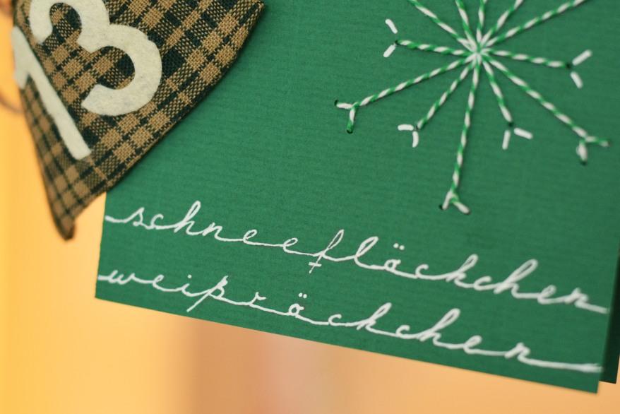 Weihnachtskarten Büro.Weihnachtskarten Besticken Sutter Büro Papeterie